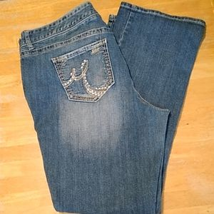 EUC 22 LONG MAURICES BOOTCUT JEANS ~Style Original